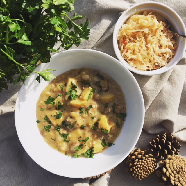 Ray's Rustic Rescue Soup